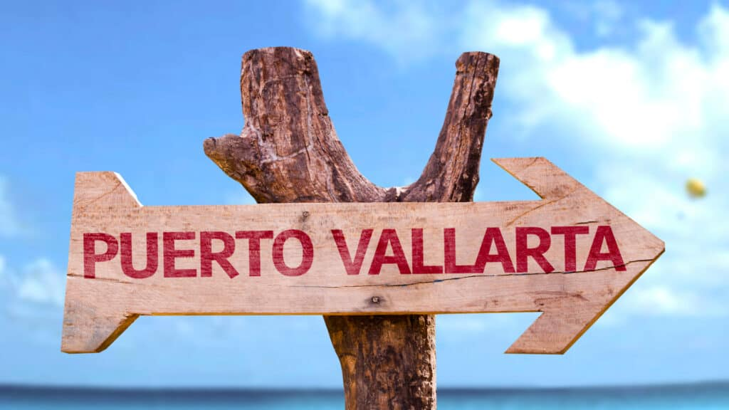 sign for puerto vallarta