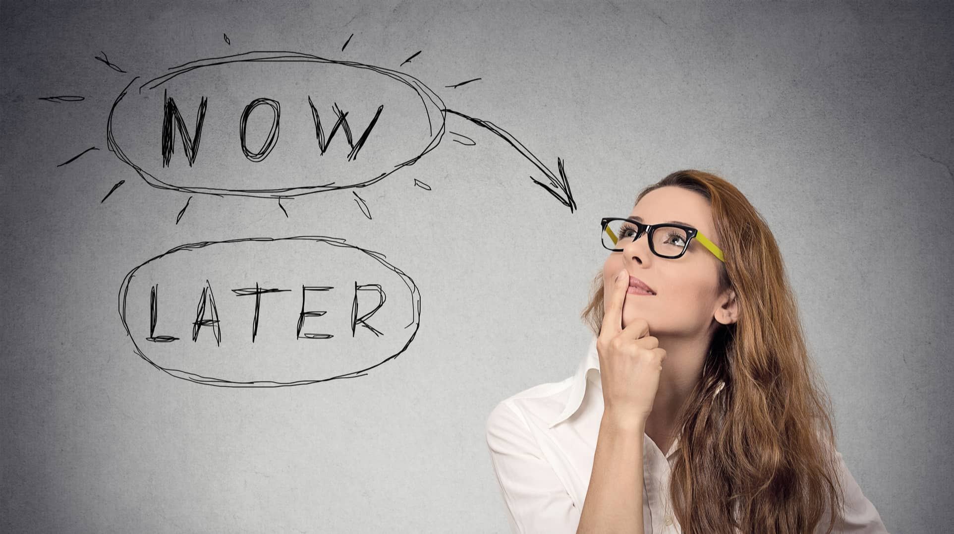 thinking woman-how to overcome procrastination