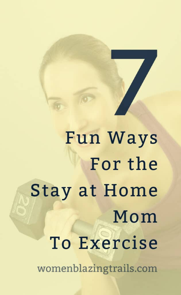 woman exercising-7 simple tips to exercise at home as a busy mom