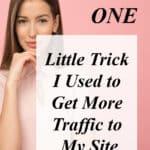 woman-increase website traffic fast