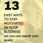 woman reading book-stay motivated in your business