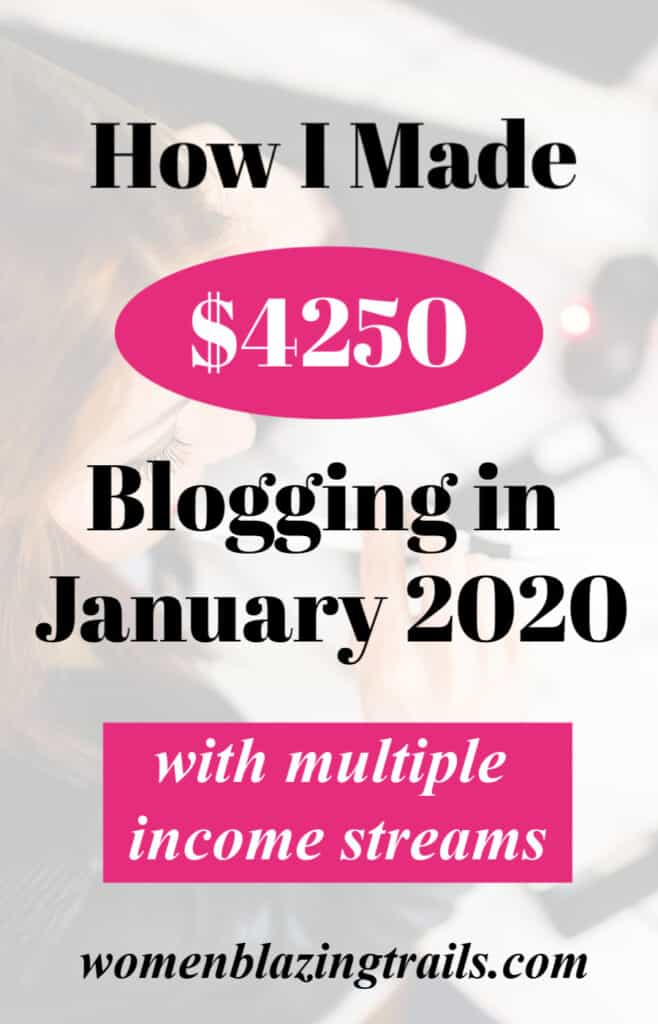 Find out how I made $4250 blogging in January