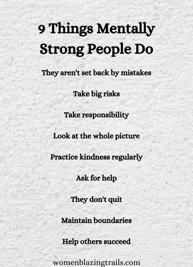 things mentally strong people do quote