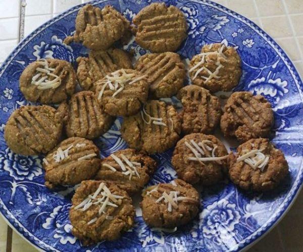 Keto peanut butter cookies-my keto journey