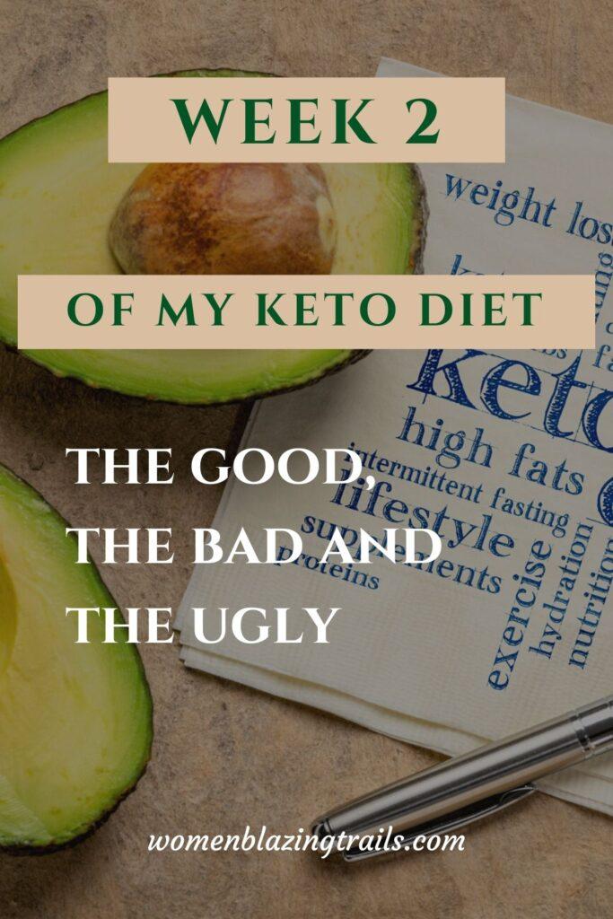 week 2 of my keto journey