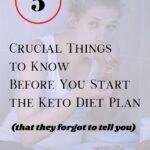 the keto diet plan pin