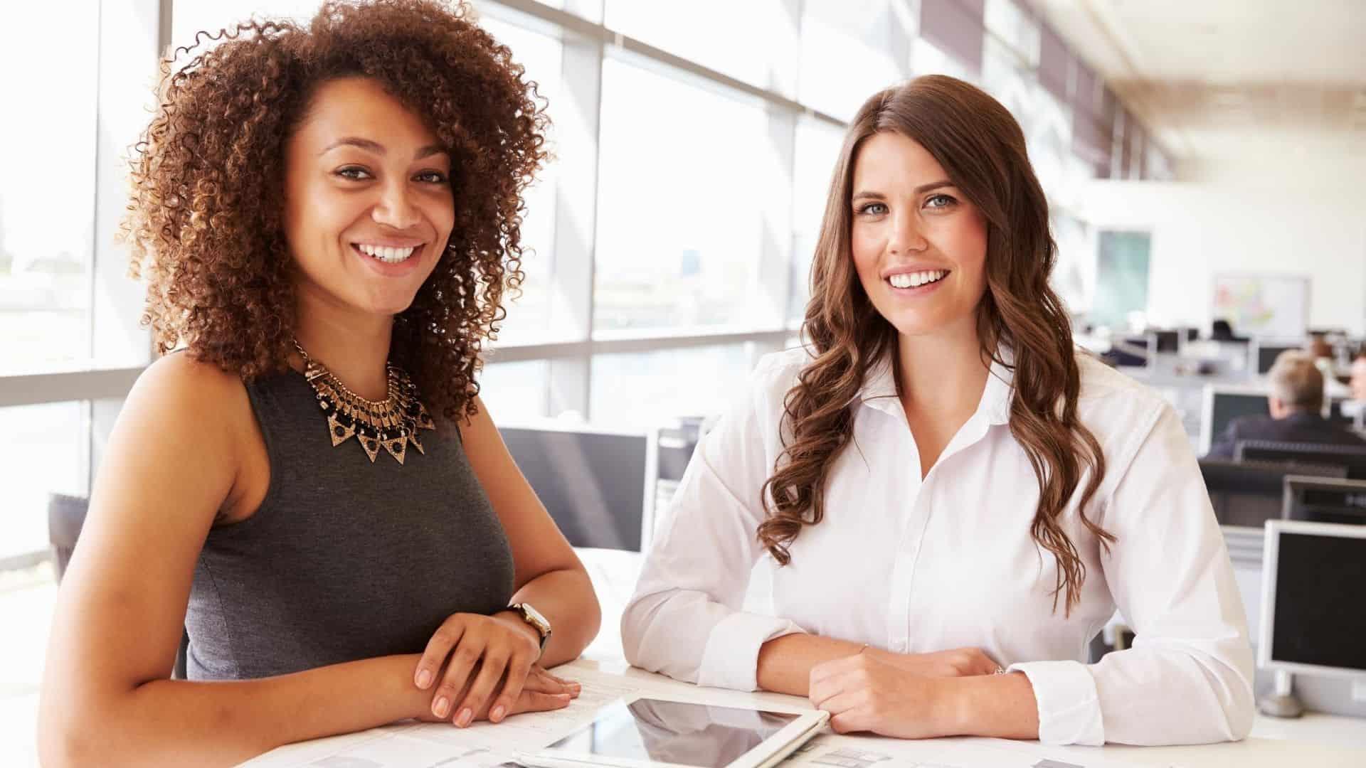 accountability buddy-two women working together