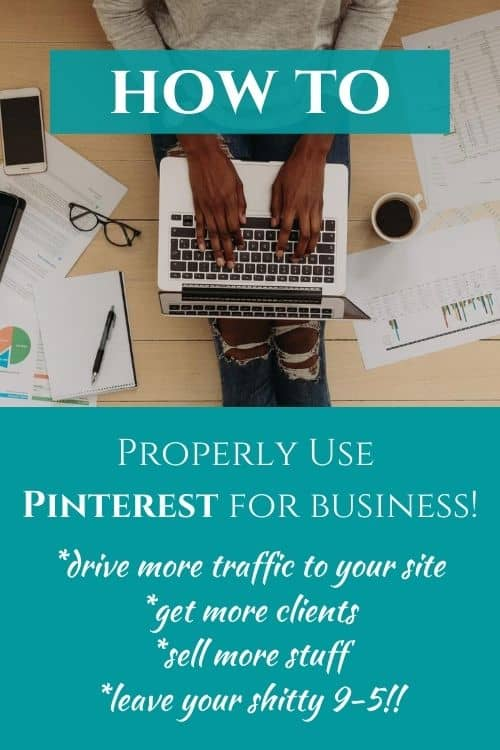 How to use Pinterest for business-Pinterest pin for blog