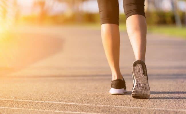 woman walking-how to have more energy