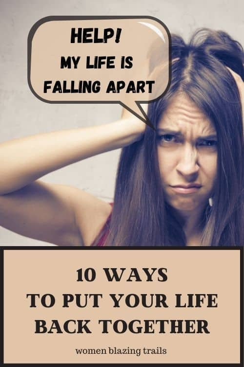 when your life falls apart pinterest image