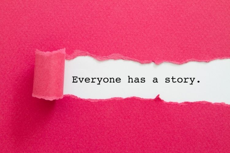 everyone has a story-when your life falls apart blog post
