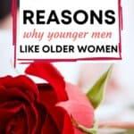 red rose-younger men dating older women blog post