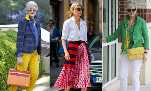 women over 50 fashion-how to dress over 50